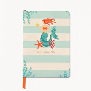 NWT Spartina 449 Ruled Notebook Mermazing 5x7